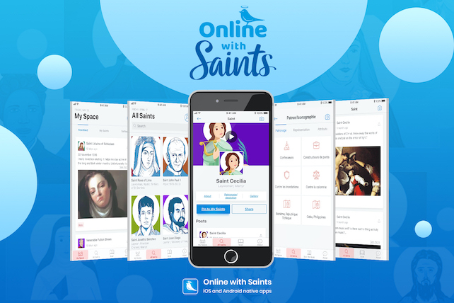 Online with Saints - Conception/création d'app natives iOS & Android